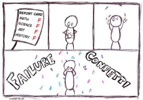 Failure Confetti by FailureConfetti