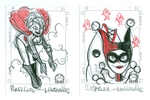 Sketchcards: DC Gals by DivaLea