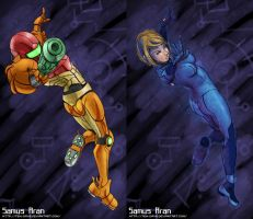 Samus: Variations by Teh-Dave