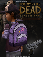 Clementine - Backpack and Pistol by JhonyHebert