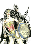 Wonder Woman and Batman by Breno Moreira by BrenoMoreira