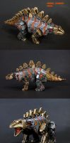 Dinobot Combiner Snarl by Unicron9