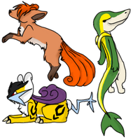 Pokemon Requests 3 by Thunderclap12
