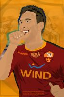 Francesco Totti Vector Work by SemihAydogdu