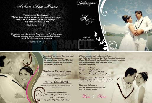 Wedding Invitation_request froma my friend by Simplethingstudio