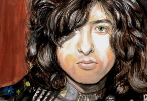 Jimmy Page by iluvalldogs8