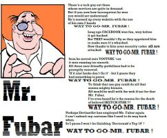 Mr. Fubar by MrDoctorunk