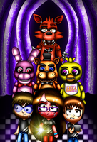 .::G-Five Nights At Freddy's::. by Misskatt66