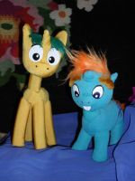 Snips and Snails plushie by TiElGar
