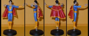 Captain Marvel Jr. Freddy Freeman custom figurine by Ciro1984