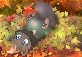 Autumn Leaves by littlepolka
