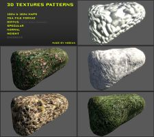 Free 3D textures pack 16 by Nobiax