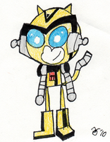 TFA Bee Monkey by Netbug009