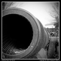 Looking Down the Barrel by TRE2Photo-n-Design