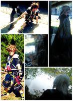 SoRiku Collage 2- To Reunion by Dayfire-Sora
