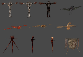 BR1 creatures pack by WoundedWrath