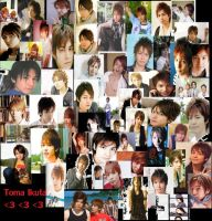Toma Ikuta Collage by lilhottiegrl225