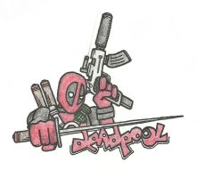 Deadpool - Pose by josh308