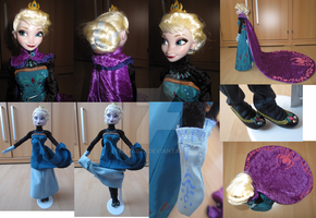 Frozen Queen Elsa coronation dress - details by kara023