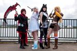 RWBY - Red, White, Black, Yellow by sparrowhawk51