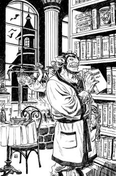 Krampus!  'That's Another Story...' by deankotz
