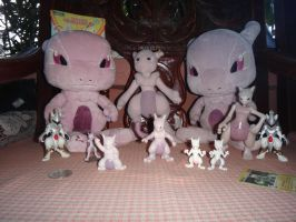 Small Mewtwo Collection by davyjonesentei123