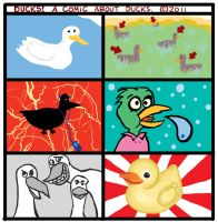 Ducks a comic about ducks by Scurrow