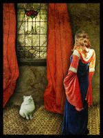 Interview with a white cat by skyfirehead