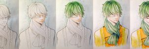 Midorima Progress by unsolvedenigma