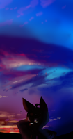 Gee Wiz- The sky sure is a good artist by Young-image