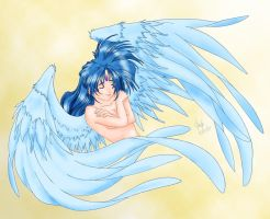 Wings of Serenity - Color by Thally
