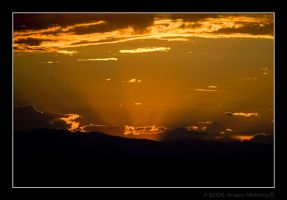 Sunset Window by Astraea-photography