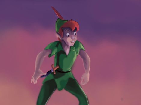 Peter Pan by vynnartic