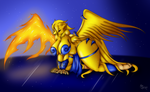 The Golden Phoenix by Suirano