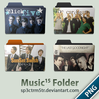 Music Folder 15 PNG by sp3ctrm5tr