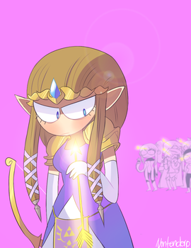 Zelda by Nintenderp23