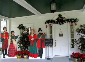 Country Carolers by WisteriasWeb