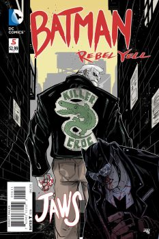 Batman Rebel Yell project - cover 5 by DenisM79