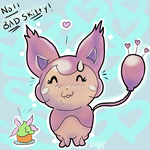 Bad Skitty by buffydoesbroadcast