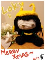 Loki says: Merry Christmas by LockVII