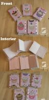 Sweet cupcake notebooks by SongThread
