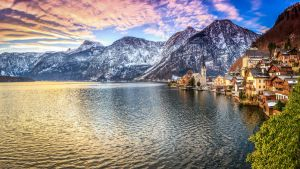 Panorama Hallstatt in Austria by zolthan5