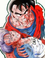 Gohan and Trunks by E2A4