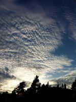 Clouds on the sky 4 by LunaticNate