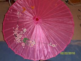 My new parasol by Angelicstubborness