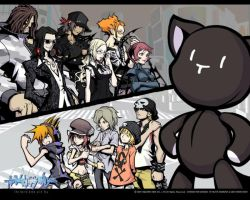 TWEWY characters by Azaon