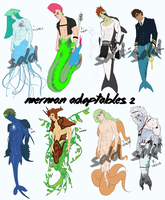 $3 Merman Adoptables by DannyJarratt
