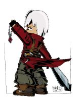 Devil May Cry Dante Full Color by andepotskie123
