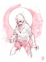Wolfman by MikeOppArt