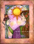 Solaris II, with border by victoriagriffinart